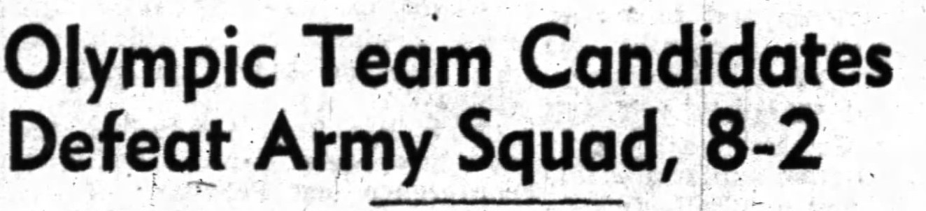 PHOTO: Oct 21 1947 Newspaper Headline RCAF Flyer Prospects defeat Army 8 to 2 in Ottawa City League