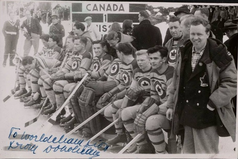Image: RCAF Flyers Bench