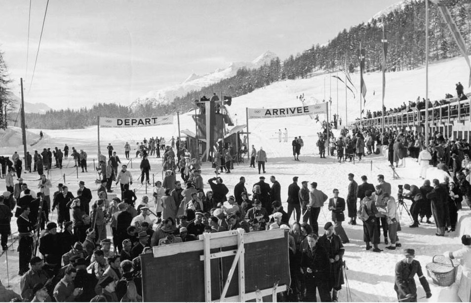 Photo:1948 Winter Olympic Cross Country Ski