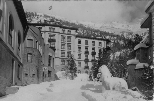 Photo: Park Hotel, St.Moritz Switzerland