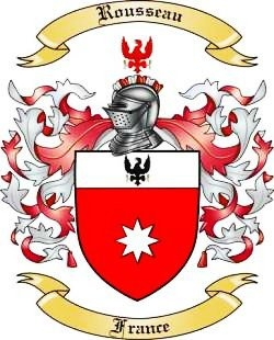 Image ROUSSEAU FAMILY Coat of Arms