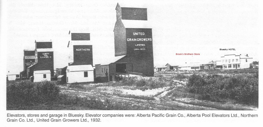 New Bluesky Grain Elevators