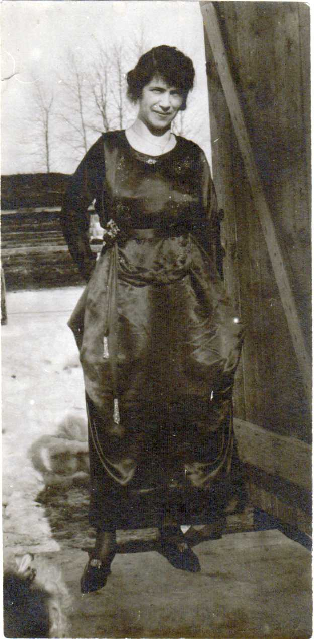 Laura Brooks in Peace River 1922