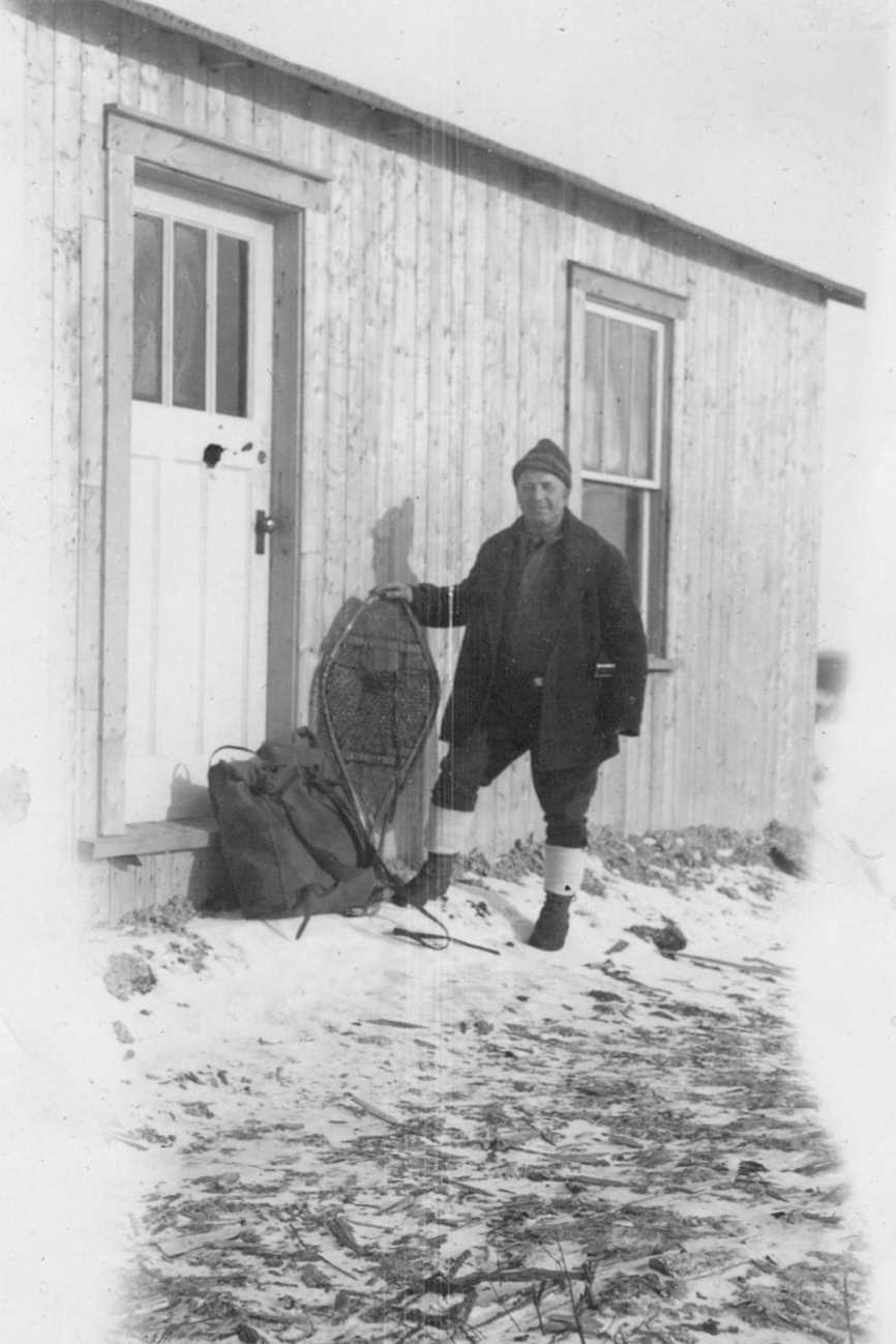 PHOTO 5 Alfred Brooks circa 1925–30  Northern Ontario/Quebec