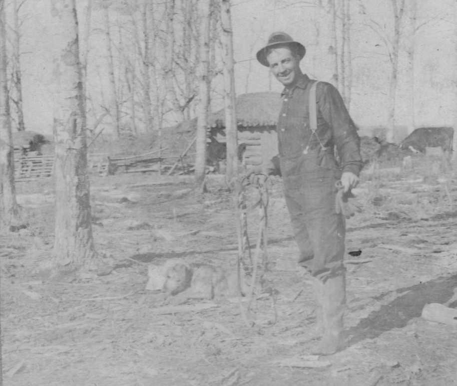 PHOTO 4 Alfred Brooks circa 1925–30  Northern Ontario/Quebec