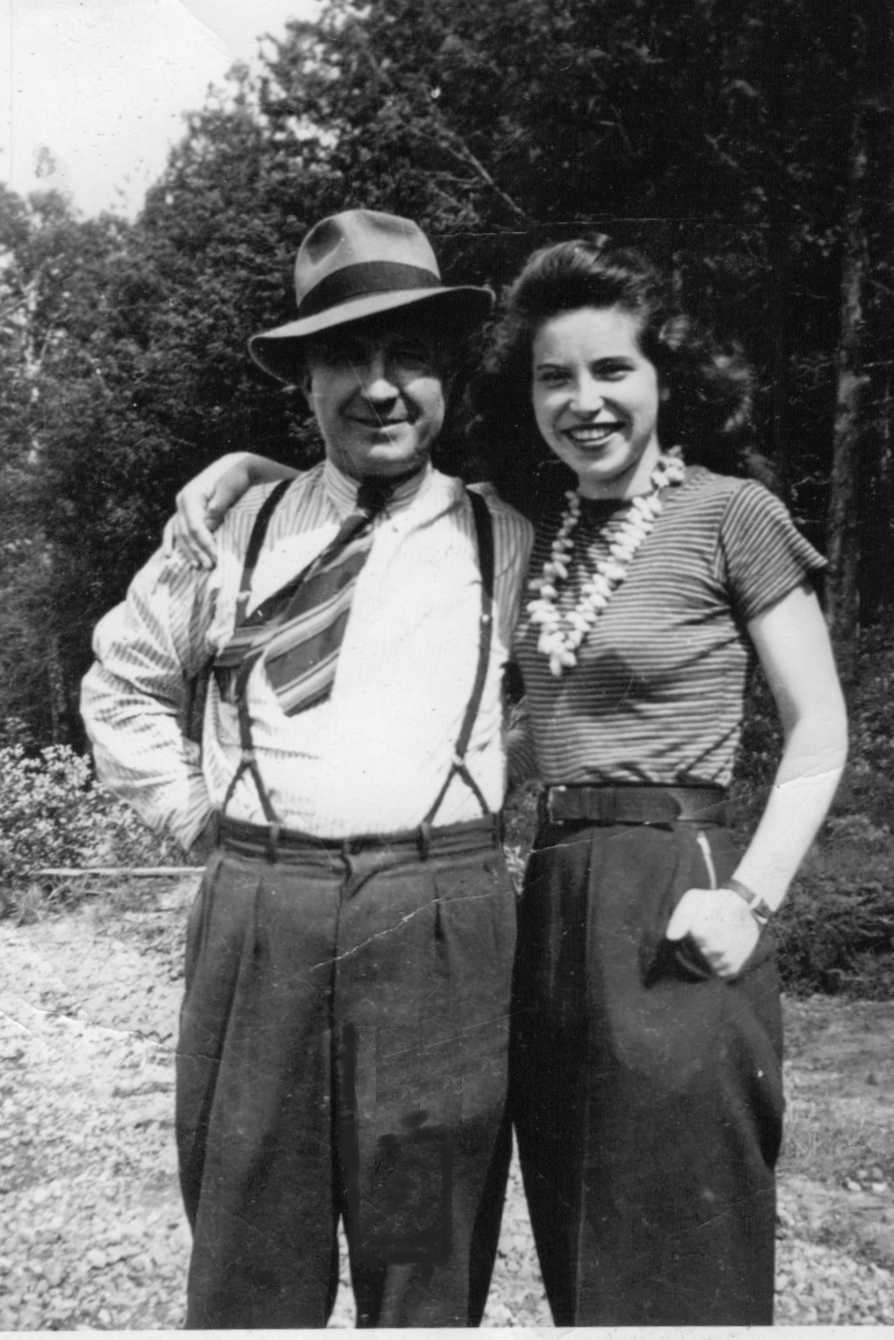 PHOTO of Alfred brooks and daughter Doris
