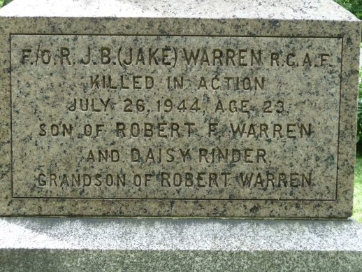 Jake Warren Headstone