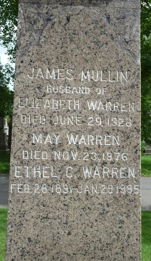 James M. Warren Headstone