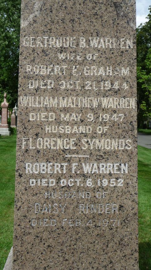 Robert F. Warren Headstone