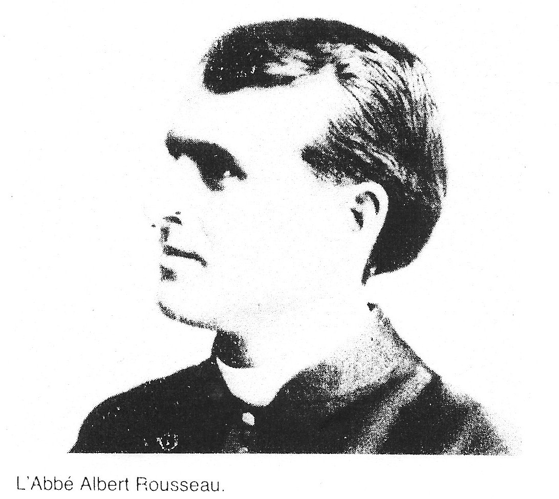 Photo of Paster Albert Rousseau