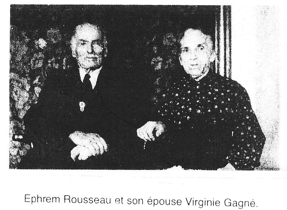 Photo of LAE and Virginie Rousseau