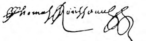 Image: Blowup of Thomas Rousseau Signature