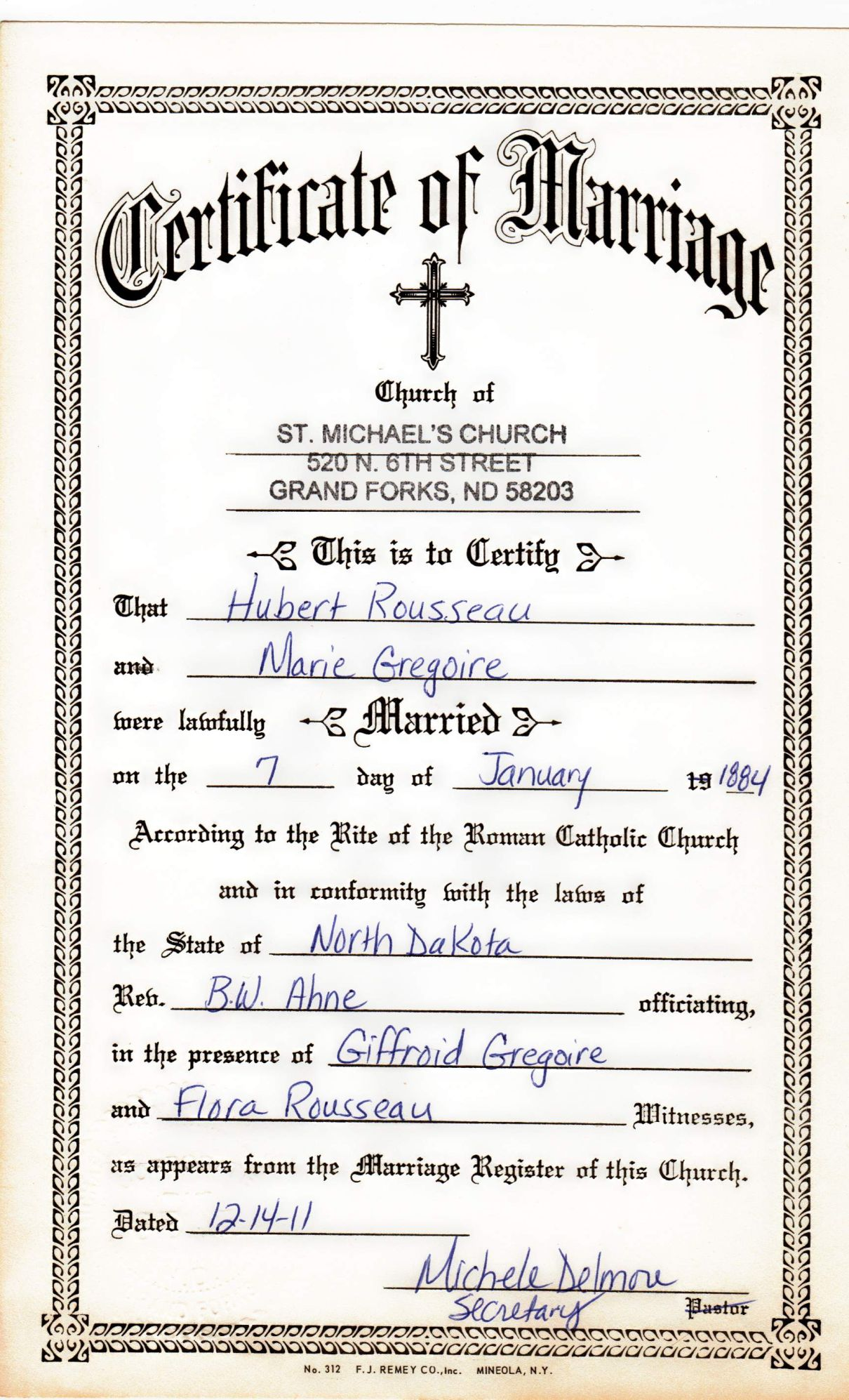 Catholic Wedding Certificate Pictures to Pin PinsDaddy – Wedding Certificate Template