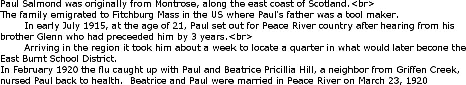 Paul and Bea Salmond